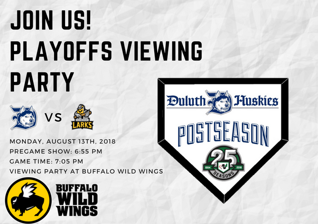 Huskies Make It To Playoffs And Host Viewing Party At Buffalo Wild