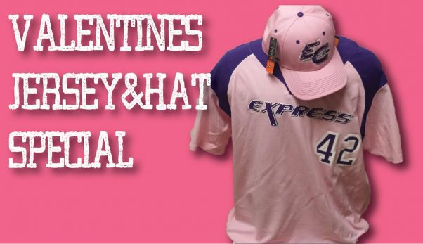 Valentines Jersey and hat deal