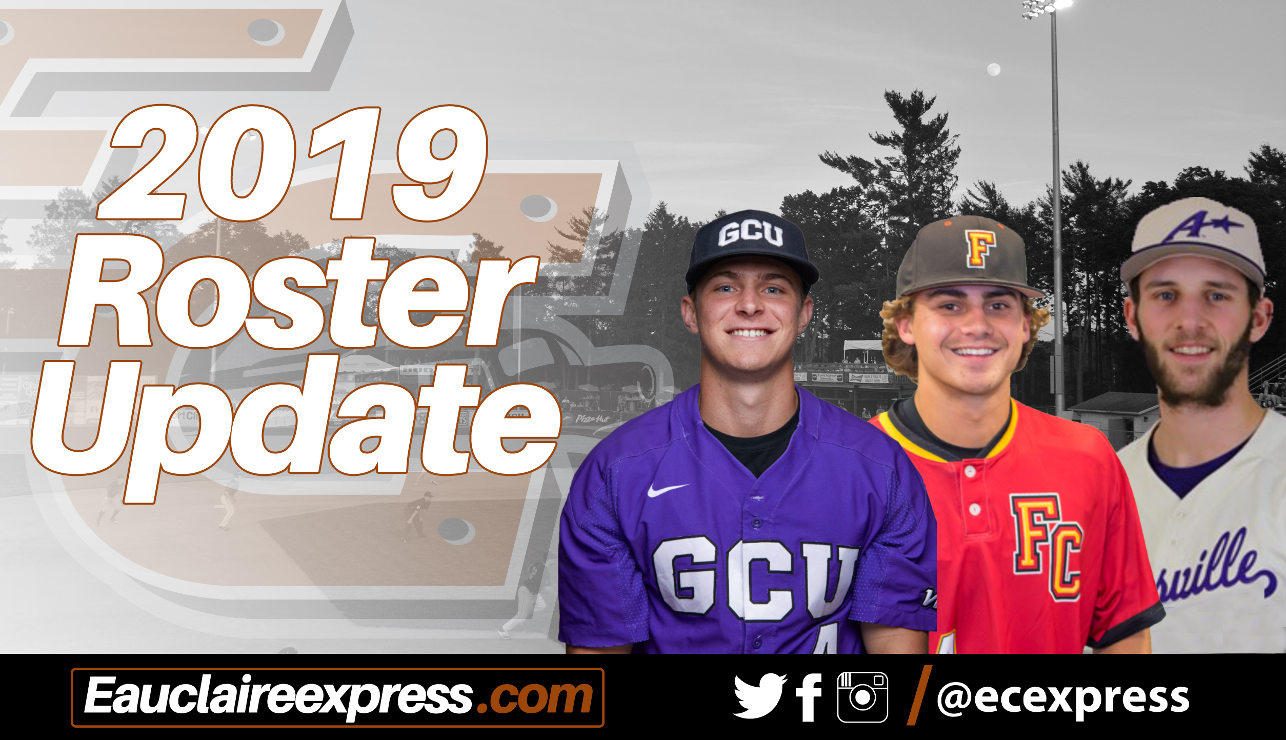 Express Add Three Position Players To 2019 Roster Eau
