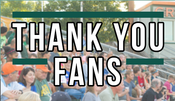 THANK YOU FANS