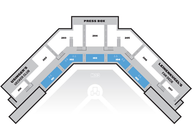 Kapco Park Seating Map