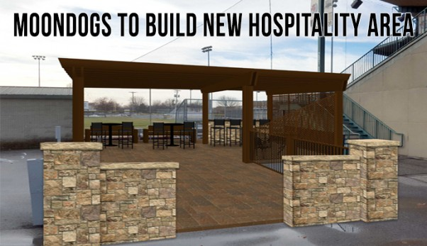 MoonDogs to Build New Hospitality Area