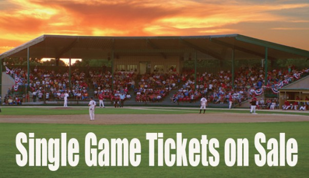 Single game tickets now for sale
