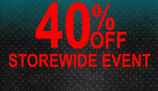 40 off store