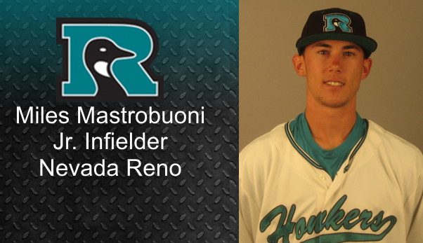 Miles Mastrobuoni Signs Honkers