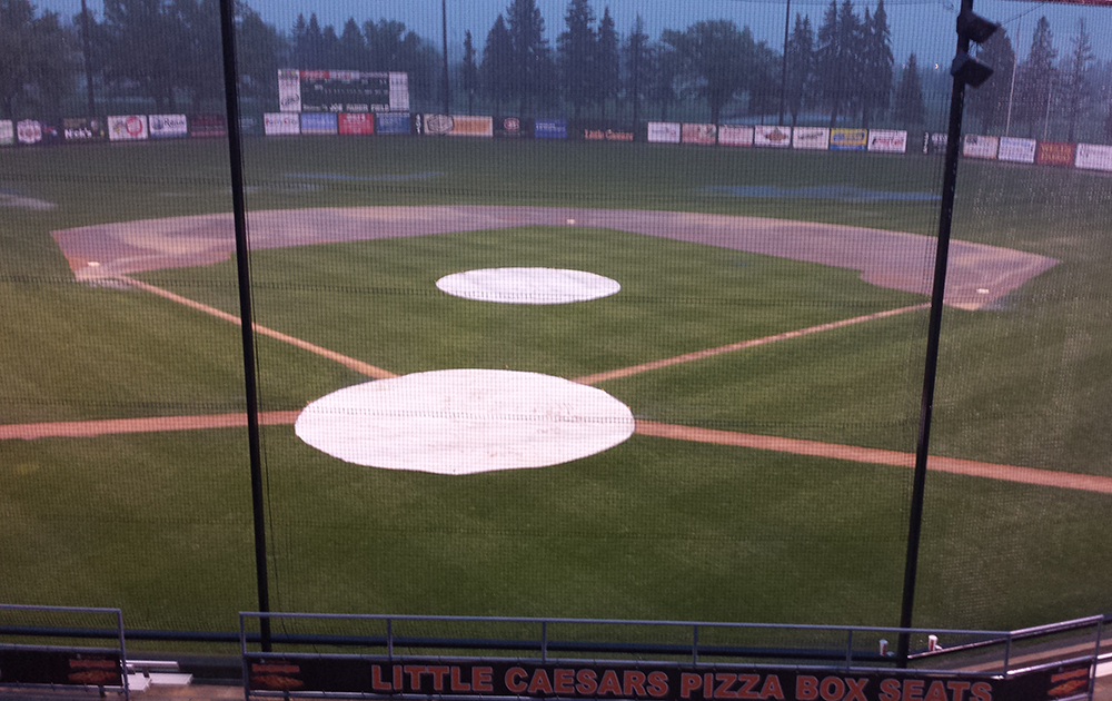 Rox and Stingers Postponed After Five Innings at Joe Faber Field