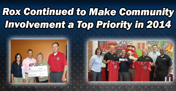 Rox Continued to Make Community Involvement a Top Priority in 2014