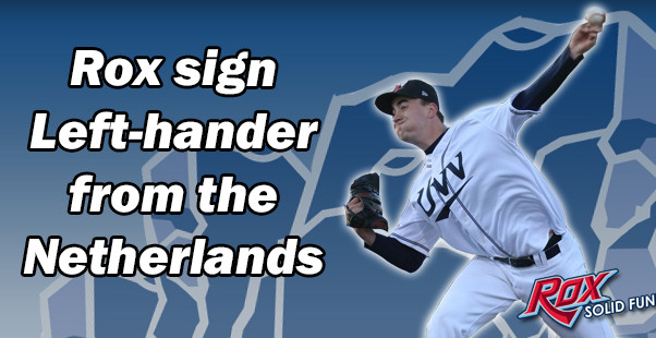 Rox sign Lefthander from the Netherlands