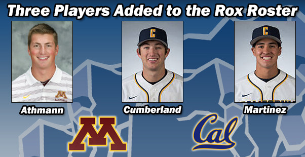Three Players Added to the Rox Roster