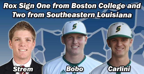 Rox Sign One from Boston College and Two from Southeastern Louisiana