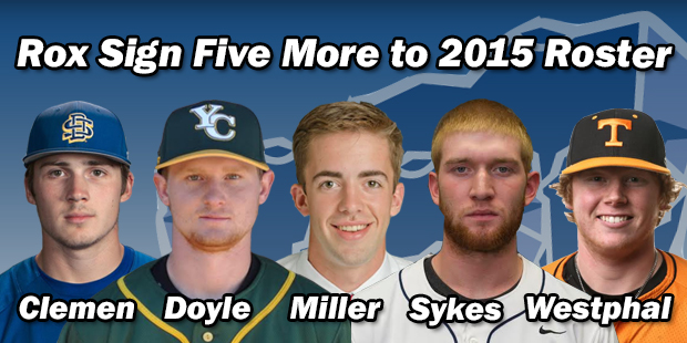 Rox Sign Five More to 2015 Roster
