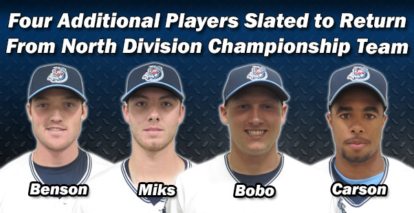 Four Additional Players Slated to Return From North Division Championship Team