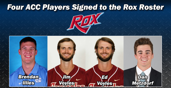 Four ACC Players Signed to the Rox Roster