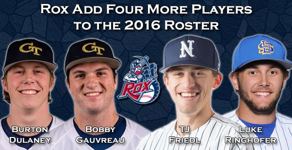 Rox Add Four More Players to the 2016 Roster