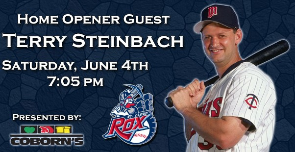 Terry Steinbach Home Opener Guest