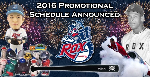 2016 Rox Promotional Schedule Announced