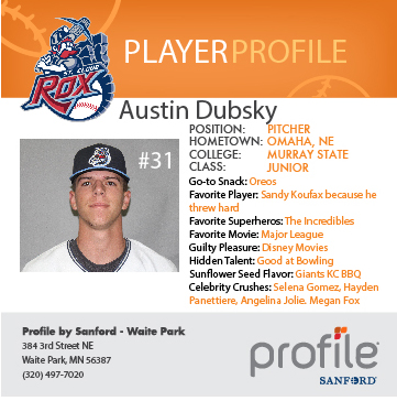 rox player profiles presented by profile by sanford st cloud rox
