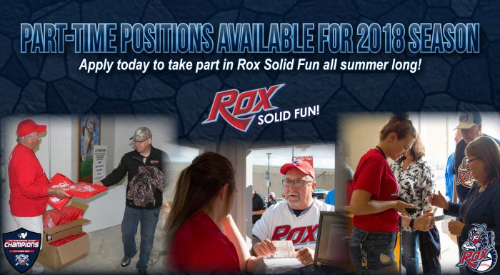 the st cloud rox 2017 northwoods league champions are now accepting applications for gameday positions during the 2018 season