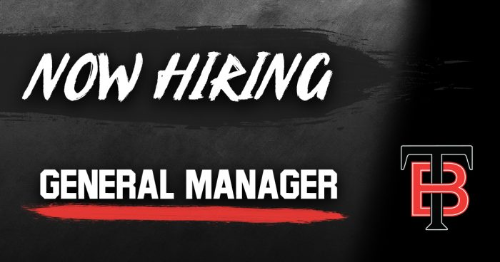now hiring - general manager