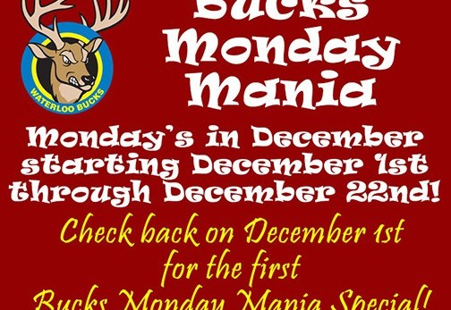 bucks monday mania deal - generic - no date - overall