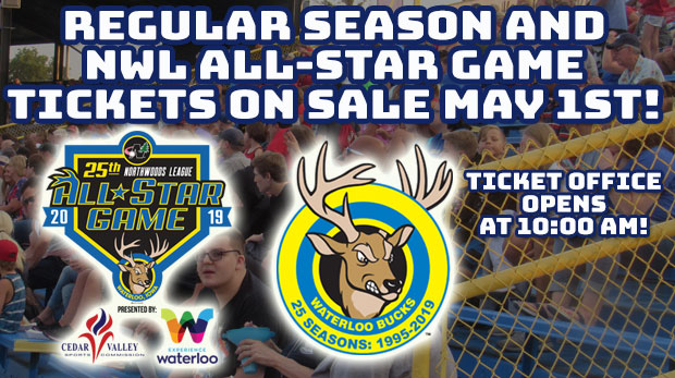 All-Star Game and Single Game Tickets on Sale May 1 - Waterloo Bucks