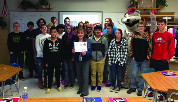 Rafters Announce 2016 Skyward Central Wisconsin Teacher Of The