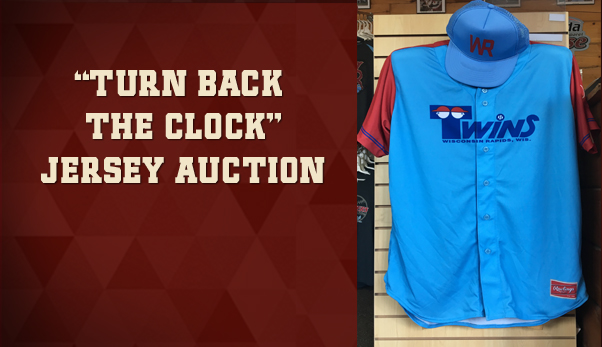 6:28 Twins Jersey Auction