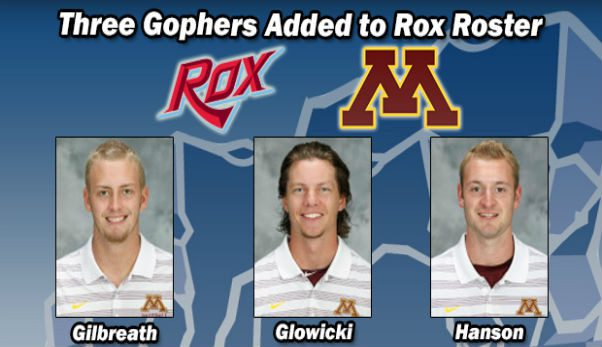 Three Gophers Added to Rox Roster