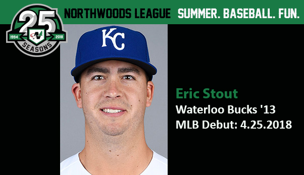 photo about Kc Royals Printable Schedule titled Previous Buck Eric Stout Debuts with the Royals - Northwoods